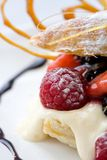 Dessert de pâtisserie Photos libres de droits