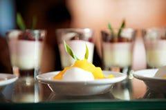 Dessert de Panacota photo stock