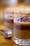 Dessert de pudding image libre de droits
