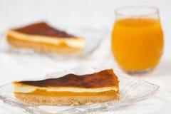 Dessert de tarte Images libres de droits