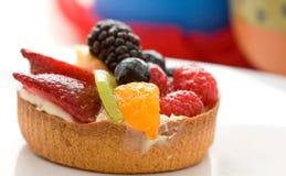 Dessert de tarte de fruit Image stock
