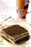 Dessert de Tiramisu Images stock