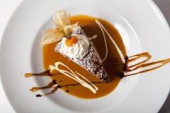 Dessert de Tiramisu Photo stock