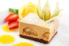 Dessert de Tiramisu Photographie stock libre de droits