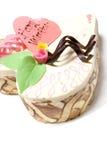 Dessert de Valentine Images libres de droits