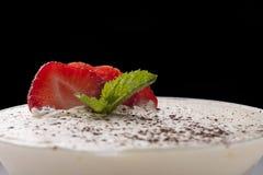 Dessert de yaourt Photographie stock