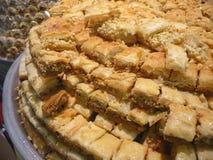 Dessert de Yufka Photos libres de droits