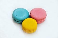 Dessert - deegwaren Royalty-vrije Stock Foto's