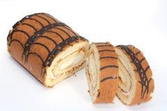 Dessert del bigné fotografia stock