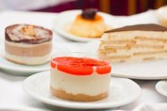 Dessert del buongustaio del ristorante Fotografia Stock
