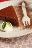 Dessert del cacao Immagini Stock