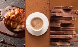 Dessert del cioccolato fotografie stock libere da diritti