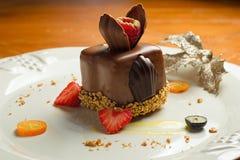 Dessert del cioccolato - Messico Fotografia Stock Libera da Diritti