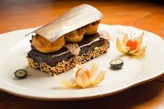 Dessert del cioccolato - Messico Fotografie Stock