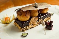 Dessert del cioccolato - Messico Fotografie Stock Libere da Diritti