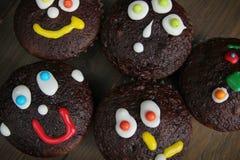 Dessert del fronte del cioccolato fotografia stock libera da diritti