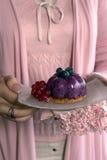 Dessert del gelato Immagine Stock