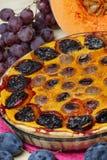 Dessert del grafico a torta di zucche Fotografia Stock Libera da Diritti