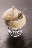 Dessert del latte di cocco Immagini Stock