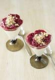 Dessert del latticello Fotografie Stock Libere da Diritti