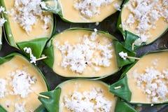 Dessert del Tan Fotografia Stock