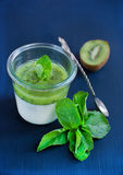 Dessert del yogurt Immagine Stock