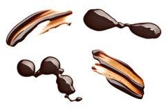 Dessert dell'alimento della macchia della macchia del cioccolato Fotografia Stock Libera da Diritti