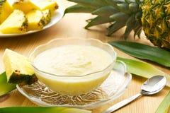 Dessert dell'ananas Fotografia Stock
