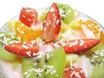 Dessert della fragola Fotografia Stock