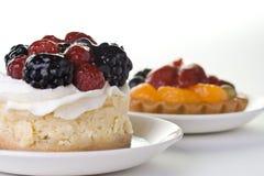 Dessert della frutta Fotografie Stock