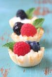Dessert della frutta Immagini Stock