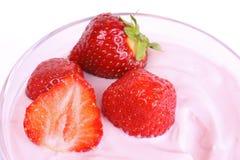Dessert della frutta Fotografie Stock Libere da Diritti