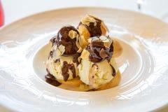 Dessert della fusione del cioccolato Immagine Stock Libera da Diritti
