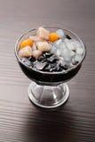 Dessert della gelatina del fagiolo con Konjac Fotografia Stock