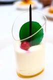 Dessert della mousse del mango Fotografia Stock Libera da Diritti