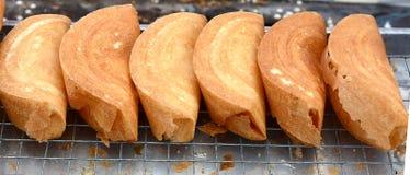 Dessert della noce di cocco Fotografia Stock Libera da Diritti
