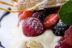 Dessert della pasticceria fotografia stock libera da diritti