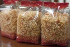 Dessert della tagliatella di riso Fotografia Stock Libera da Diritti