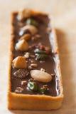 Dessert della torta di cioccolato Fotografie Stock Libere da Diritti