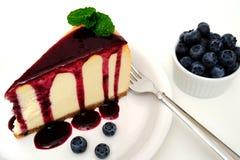 Dessert della torta di formaggio Fotografie Stock