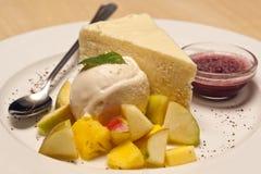Dessert della torta di formaggio Immagine Stock