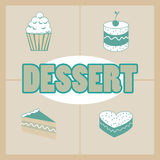 Dessert design Stock Photography