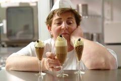 Dessert desire Royalty Free Stock Image