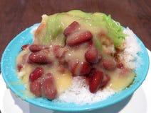 Dessert di cendol del Durian Fotografia Stock