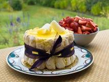 Dessert di estate Fotografia Stock Libera da Diritti