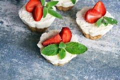 Dessert di estate Fotografia Stock