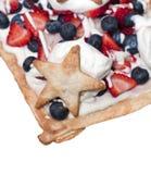 Dessert di festa dell'indipendenza Immagini Stock Libere da Diritti