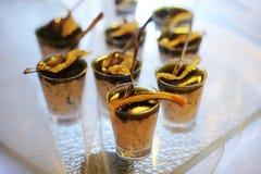 Dessert di lusso Immagine Stock