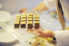 Dessert di lusso 2 Fotografie Stock