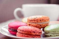 Dessert di Macarons Fotografie Stock